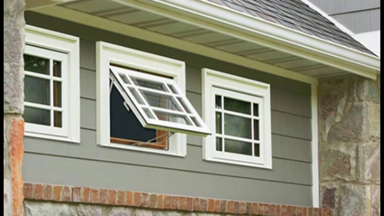 Awning window youtube for Glass awnings for home