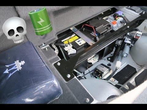 Jumping The Dead Battery On A Maserati Granturismo Mc