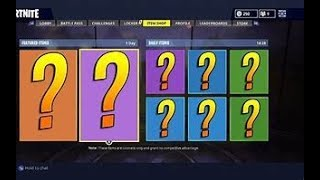 Fortnite Daily items reset