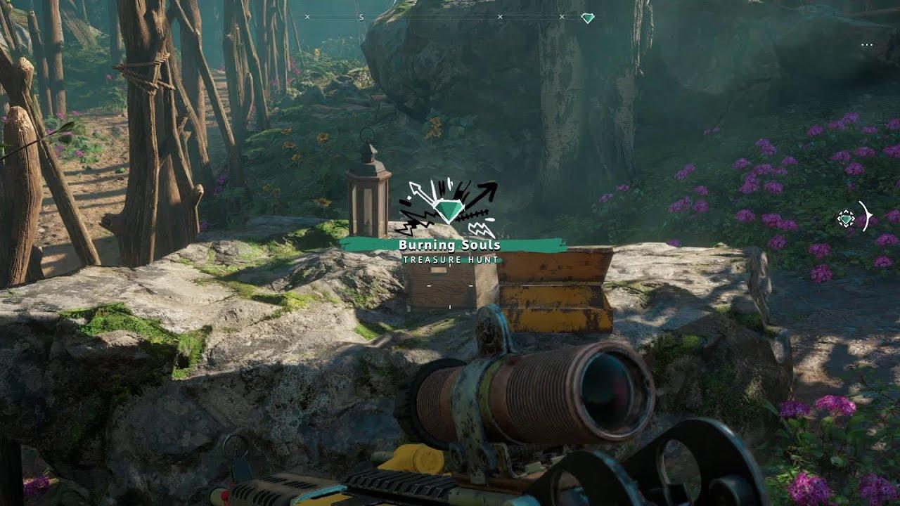 Far Cry New Dawn Burning Souls Treasure Hunt Guide Critical Hit