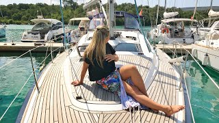 56 | Conhecendo o Veleiro Jeaneau 42 DS , nossa nova casa - Sailing Around the World