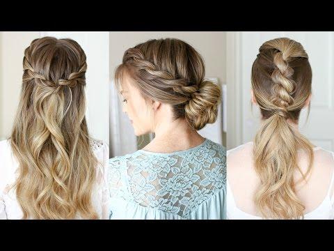 3 Easy Rope Braid Hairstyles | Missy Sue