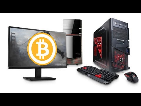How To Mine For BitCoin Using Your Gaming PC - Ethereum Mining (*EASY*)