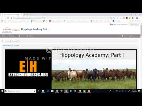 Orientation Hippology Academy