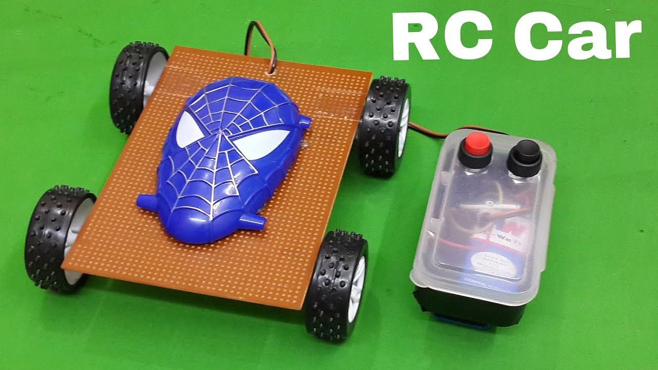 How To Make A Simple Remote Controlled (RC) Car At Home