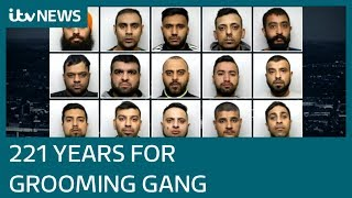 Huddersfield grooming gang jailed | ITV News