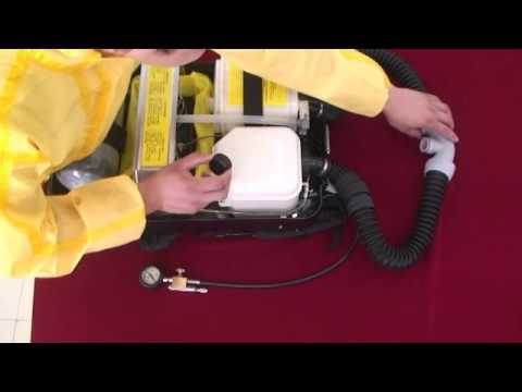 Operation Instructions Video of Closed Circuit Oxygen Breathing Apparatus