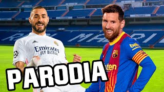 Canción Barcelona vs Real Madrid 1-2 (Parodia Sech - 911)