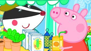 Peppa Pig Official Channel | Peppa Pig's Shopping Time at the Market