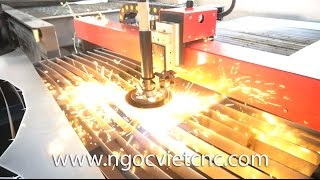 Máy Cắt Plasma CNC Novi 5000B Việt Nam Sản Xuất