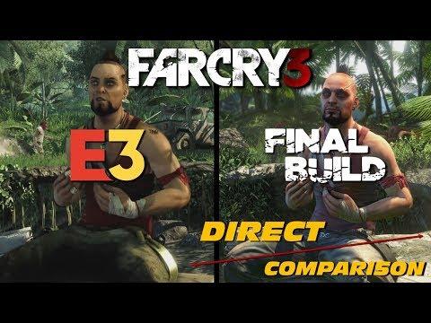 Far Cry 3 - E3 vs Retail   Direct Comparison