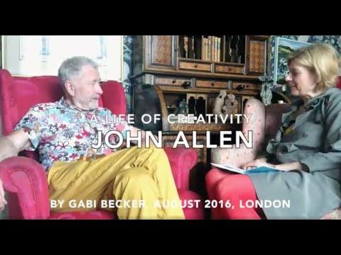 A Life of Creativity - Textile Artist John Allen