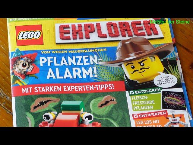 Lego, Explorer, Pflanzen-Alarm!, April 2021, Meister der Steine