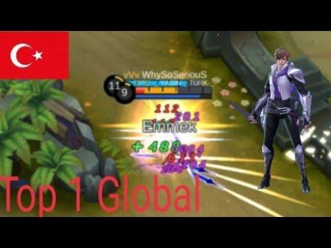 Türkiye'nin Gururu Dünyanın En İyi Gusion Oyuncusu WhySoSeriouS/Top 1 Global Gusion Gameplay