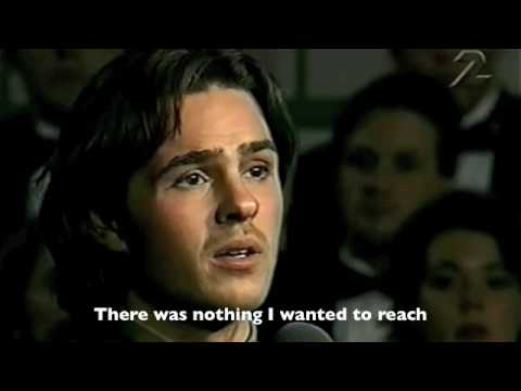 Guldet blev till sand (English subtitles) - Peter Jöback (Kristina från Duvemåla)