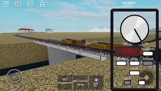 Union Pacific Mixed Freight ROBLOX RAILFANNING PT.4
