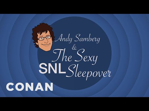 'Conan' Animated The Epic Tale Of Andy Samberg's Sexy 'SNL' Sleepover