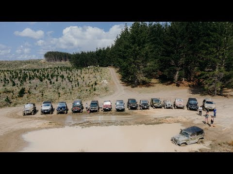 Woodhill Polaris 4WD Park with the Jeep Club