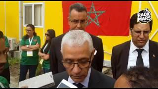 تعليق السيد رشيد الطالبي العلمي وزير الشباب والرياضة على مشاركة المغرب في الألعاب الفرنكوفونية
