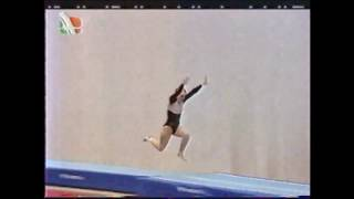 Чемпионат Мира по прыжкам на акробатической дорожке 1998 Морозова Татьяна