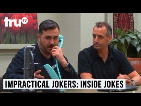 Impractical Jokers: Inside Jokes - Customer Service Dream Phone   TruTV