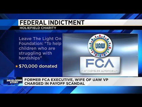 Former FCA executive, wife of UAW VP charged in payoff scandal