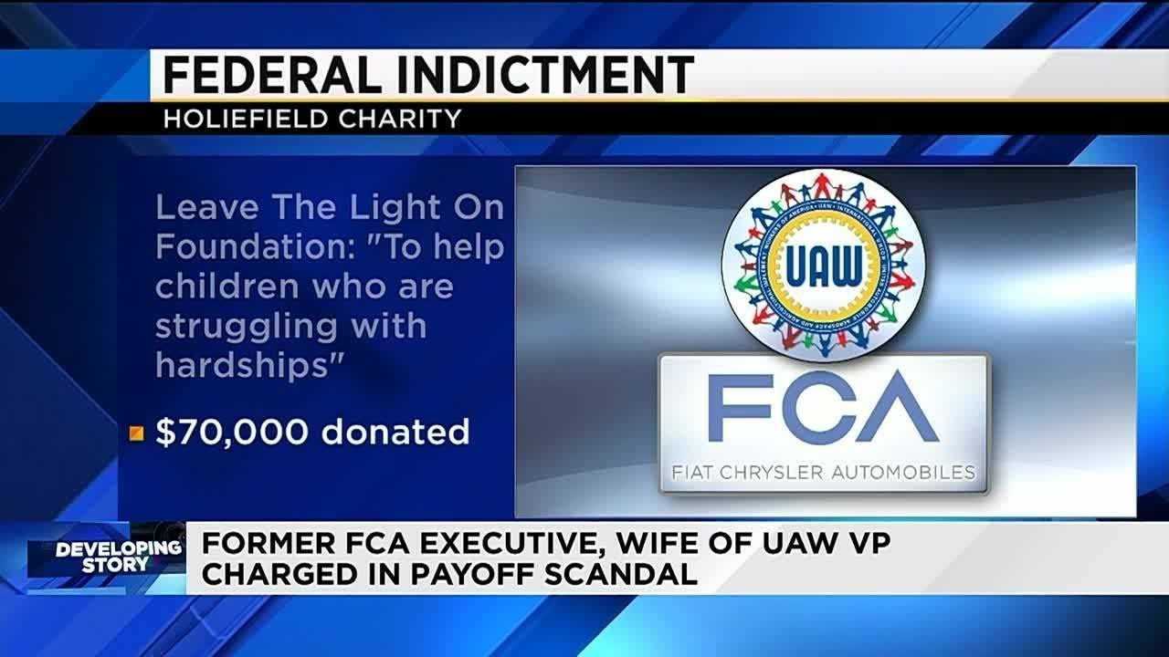 Crime: Highest-Ranked UAW Official Yet Charged in U S  Fiat Scandal