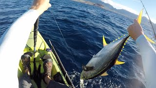 3 baits, 3 fish part 1 | Deep sea kayak fishing | Catch and cook