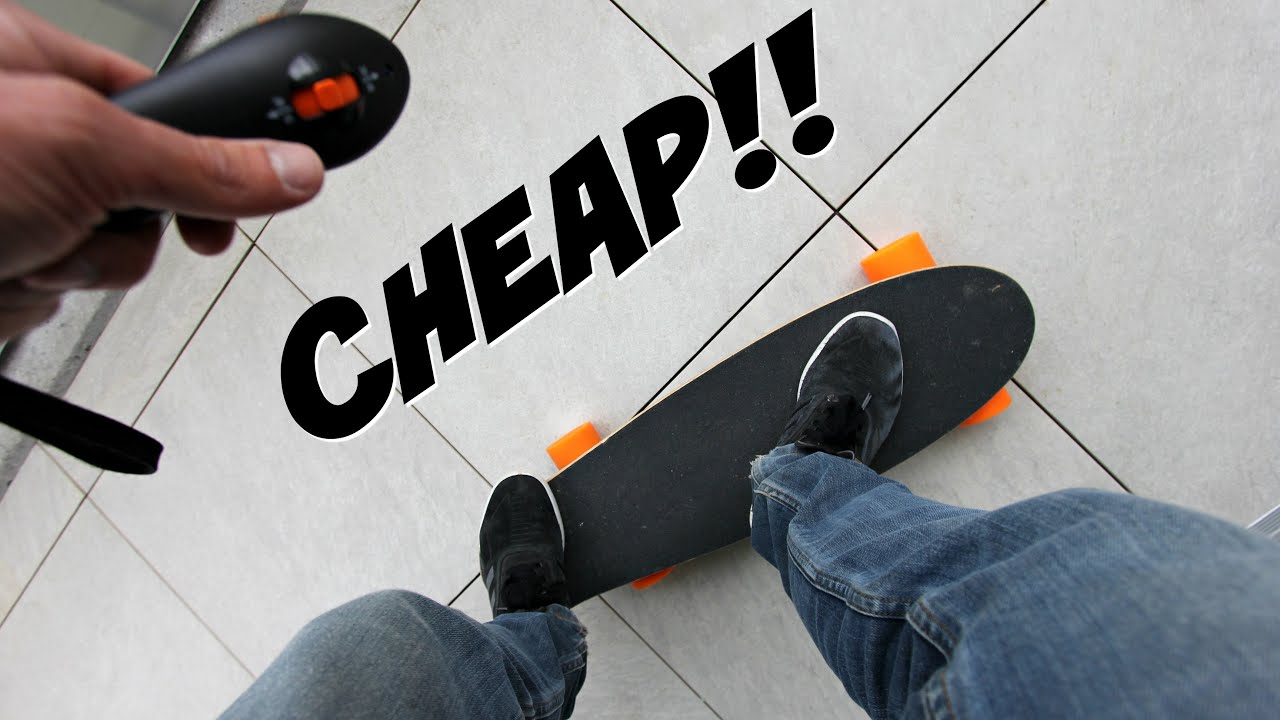 AWESOME MINI ELECTRIC SKATEBOARD  YouTube