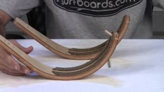Hawaiian Gun Rack Surfboard Wall Rack Review At Surfboards.com