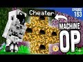 J'AI CONSTRUIT UNE MACHINE DE CHEATER... | Minecraft Moddé S4 | Episode 163