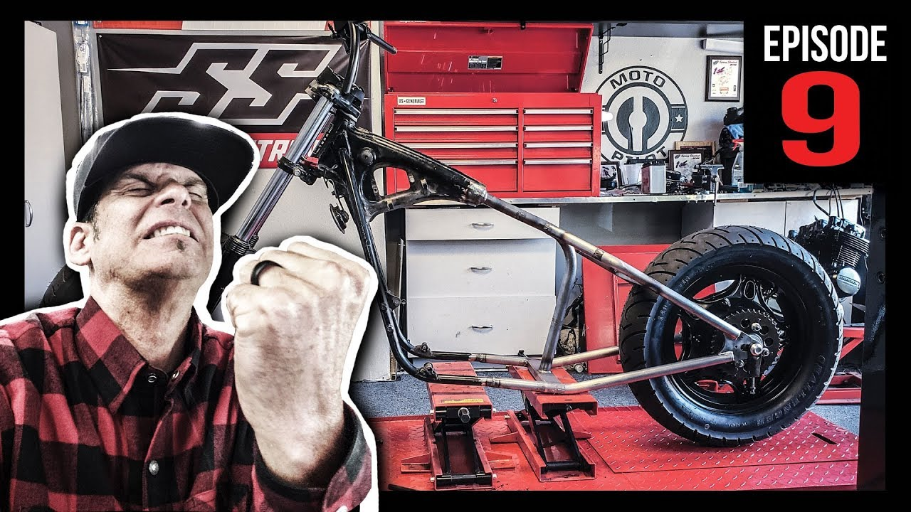 Serious Issue's with Bobber HardTail Frame - Episode 9
