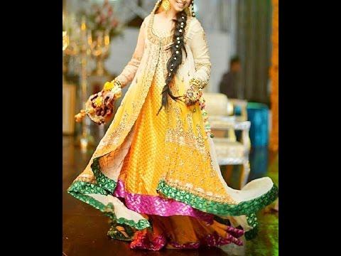 b6385d36b2 Mehndi Dresses | Indian & Pakistani Bridal Dress Designs. fashion world  online