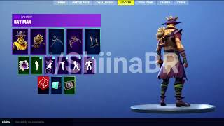 New HAYMAN SKIN And FIELD WRATH GLIDER And BACKBLING Coming To FORTNITE BATTLE ROYALE