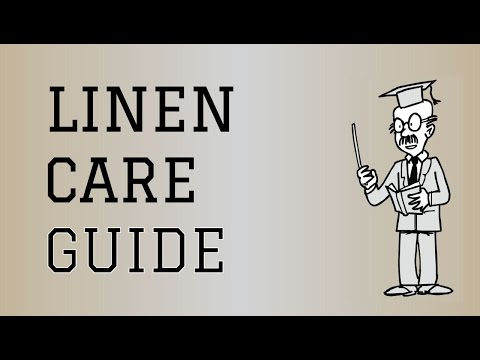 Fabric Care Guide : Linen | How to care for Linen Clothing