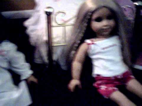 American Girl doll ghost girl sleepover (humerous not scary)