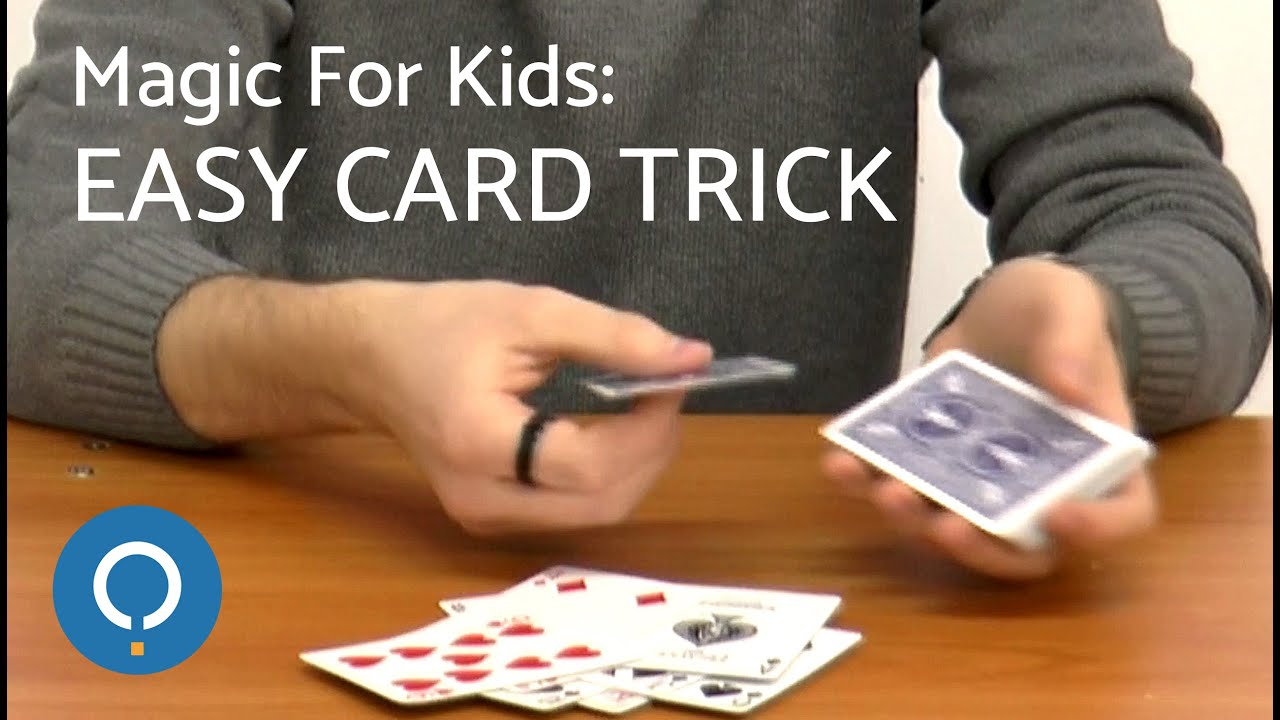 Magic For Kids: Easy Card Trick - YouTube