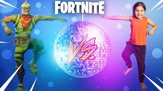 FORTNITE DANCE CHALLENGE! - (In Real Life) - Leos PlayTime