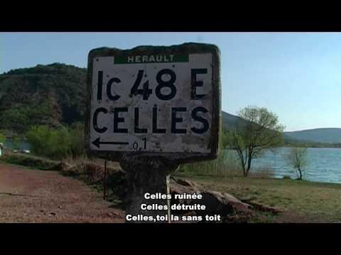 CELLES : texte et voix off: Alain Auglans. réalisation vidéo Ch Montagné