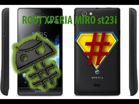 rumoured have cara root hp sony xperia miro great moments your