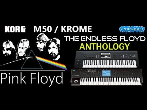The Endless Floyd Anthology  Pink Floyd Synthcloud Library on KROME  M50  Alex Di Donna
