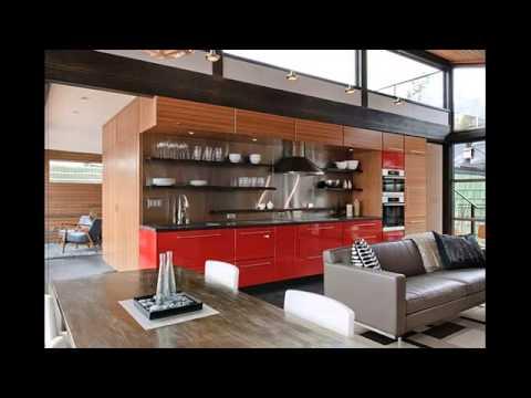 Modular kitchen interior design photos youtube for Modular kitchen designs youtube