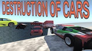 BeamNG.drive - Destruction of Cars (Hard) Part 2