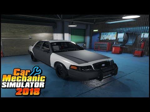 PROJECT NEIGHBOR COYOTE 5.0 CROWN VIC - Car Mechanic Simulator 2018