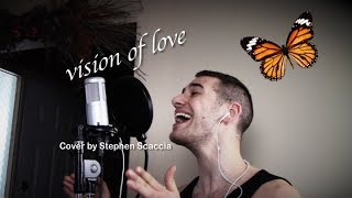 Vision of Love - Mariah Carey (cover by Stephen Scaccia)