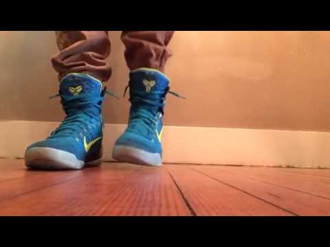 new arrival 13949 e8715 Nike Kobe 9 Elite Perspective On Feet Review
