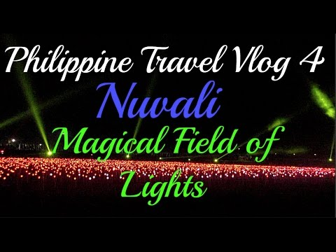 Philippines Travel Vlog 4 - Nuvali Magical Field of Lights!