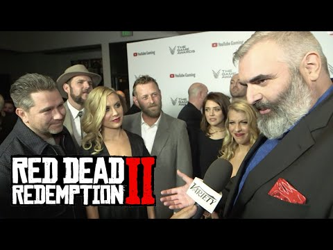 All RDR 2 Characters Voice Actors In Real Life - Red Dead Redemption 2