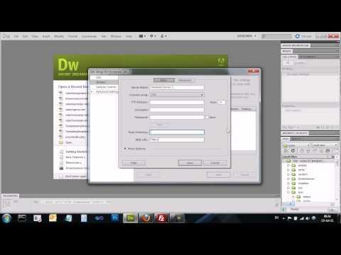 Adobe Dreamweaver CS5 - דרימוויבר - Manage Sites - ניהול אתרים