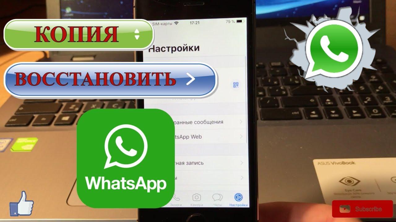 Как сделать резервную копию и восстановить WhatsApp на iPhone